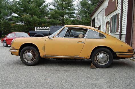 yellow porsche side view porsche 1965 911 coupe yellow 15319 forza