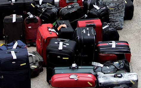 emirates lost baggage two jailed in bag for bribe airport check in scam