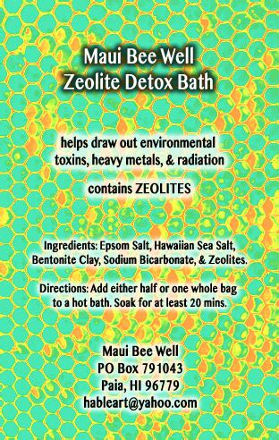 Zeolite Detox Bath by Zeolite Detox Bath Bee Well Zeolite Detox Bath