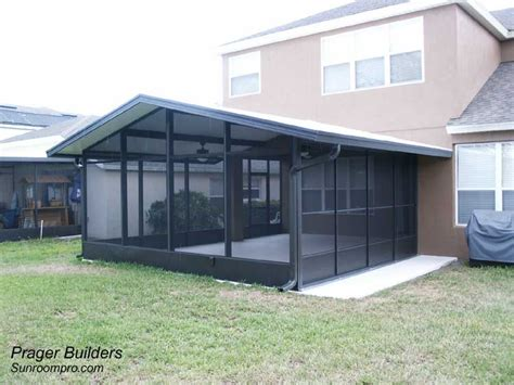 screen room screen room winter springs florida prager builders sunroom pro