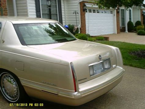how does cars work 1997 cadillac deville electronic toll collection buy used 1997 cadillac deville d elegance sedan 4 door 4 6l in mechanicsville virginia united