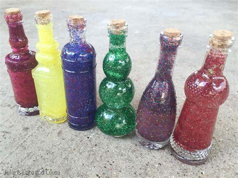 halloween potion bottles measures
