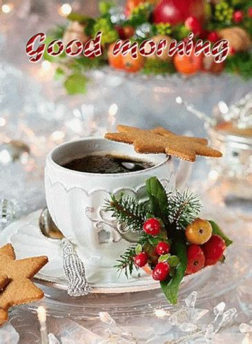 good morning coffee gif goodmorning coffee christmascookies discover share gifs