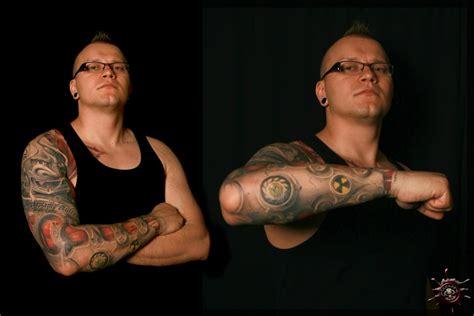 mohawk tattoos mohawk by caesar tattoos