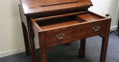 national mt airy furniture desk national mt airy limited edition series 1 oak pull desk
