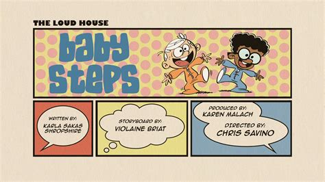 the loud house title card template baby steps the loud house encyclopedia fandom powered