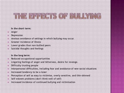 thesis about bullying in the philippines bullying slideshow