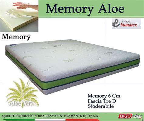 prezzo materasso memory materasso memory mod memory aloe da cm 140x190 sfoderabile