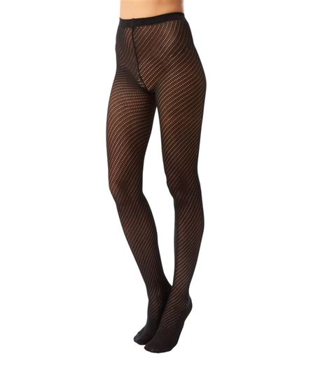 knitted tights wolford adelia knitted tights in black lyst