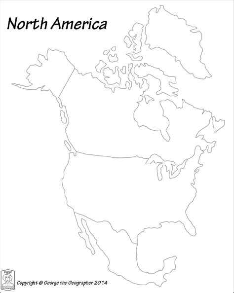 America Map Outline Printable by America Map Outline Grahamdennis Me