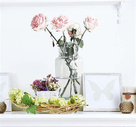 fiori adesivi per pareti adesivi murali per amanti dei fiori blossom zine