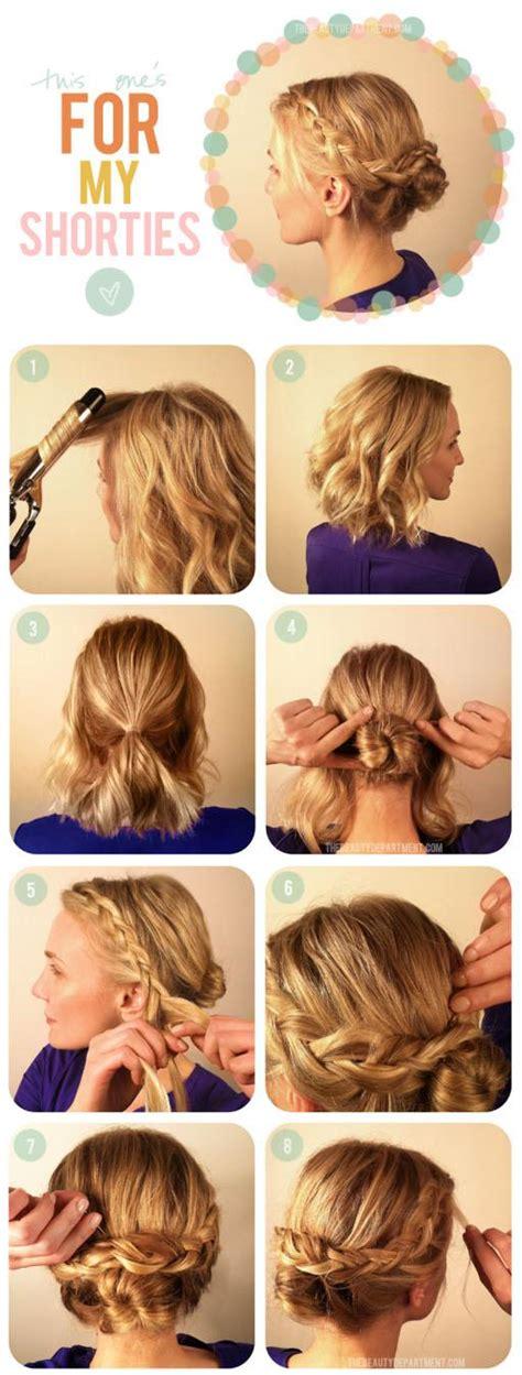 peinados paso a paso pelo corto www pixshark com 30 ideas de peinados para cabello corto muy faciles para