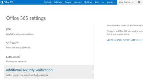 Office 365 Login Outlook Multi Factor Authentication For Office 365 Office Blogs