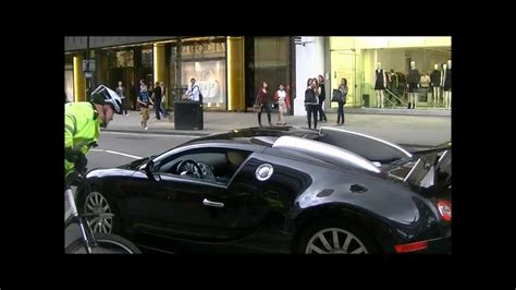 Bugatti Veyron Pulled Over by Police Bicycle!!!   YouTube