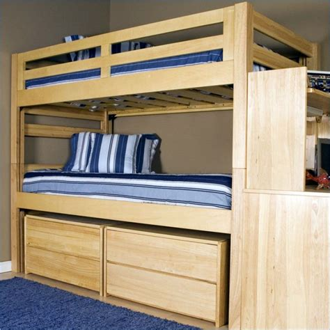 Bunk Bed Plans With Storage 17 Smart Bunk Bed Designs For Adults Master Bedroom
