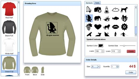 t shirt design application top 10 free t shirt design softwares online