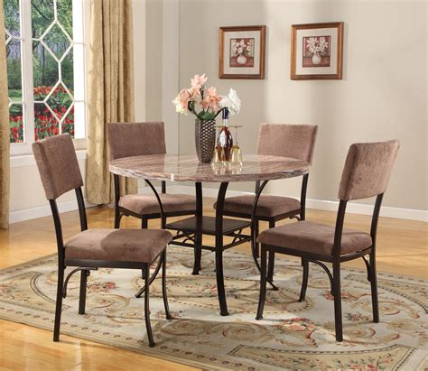 home 5pc dining dinette table chairs bench set room sets picture walmart 5