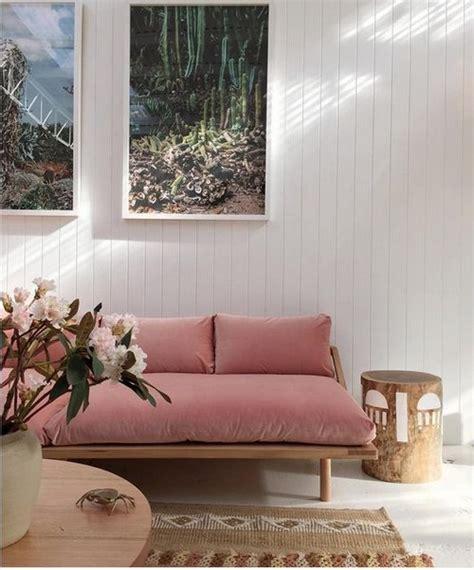 rose colored sofa 2016 velvet trend in interior design 24 photos messagenote