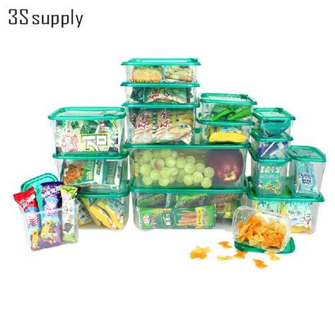 Multi Kitchen Set Jaco 17pcs set multi purpose plastic kitchen storage organizer storage box for refrigerator crisper