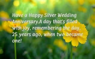 happy 25th wedding anniversary wishes
