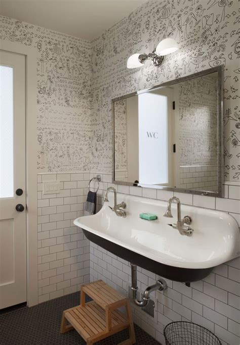 modern farmhouse bathroom 10 bathroom wallpaper designs bathroom designs design