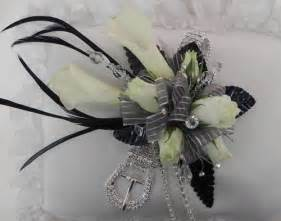 black and white corsage the top 5 corsages for the prom contest flirty fleurs the florist inspiration for