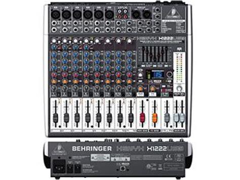 Mixer Behringer X1222usb behringer xenyx x1222usb audio mixer