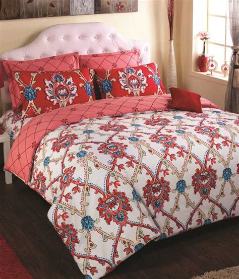 heating comforter portico new york multicolour cotton double size duvet