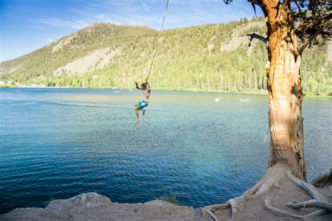 california swing best swimming holes rope swings and waterfalls in