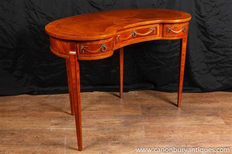 Bean Desk by Regency Kidney Bean Desk Walnut Writing Tables Desks