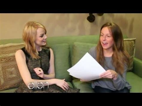 emma stone youtube interview emma stone s backstage interview youtube