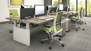 steelcase series bench corporate interiors