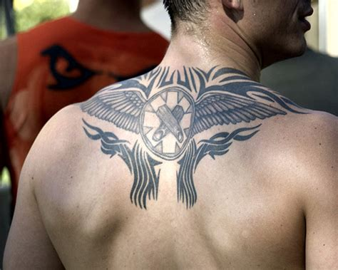 tattoo in gallery tribal upper back tattoos for men