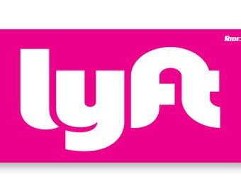 Lyft Window Sticker