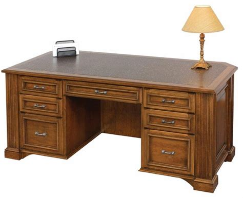lincoln executive desk from dutchcrafters amish furniture