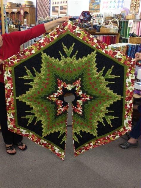 bargello christmas tree quilt pattern bargello tree skirt