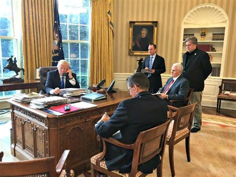 trump in the oval office trump holds first conversation with putin in oval office