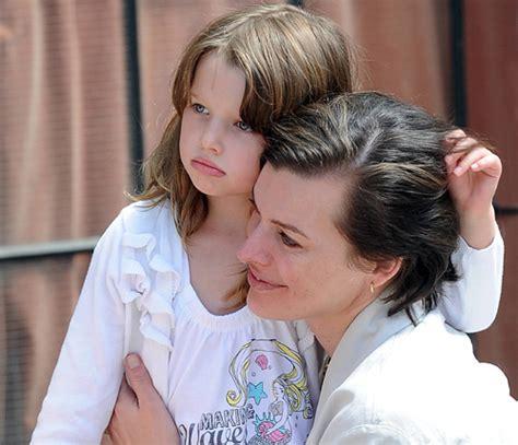 milla jovovich child model el innegable e impactante parecido de milla jovovich y su