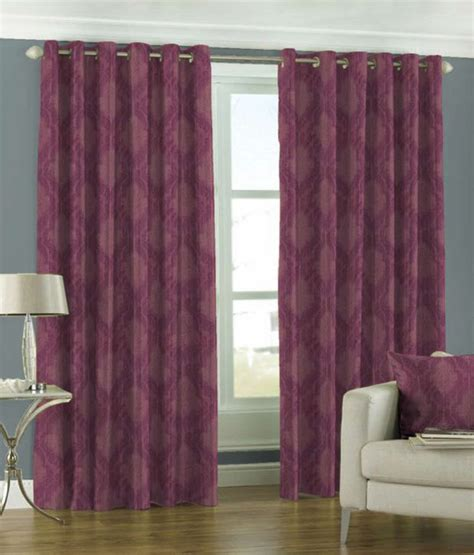 grape coloured curtains skipper curtain grape prints eyelet window curtain buy