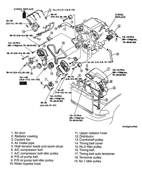 mazda 323 1987 engine diagram electrical schematic