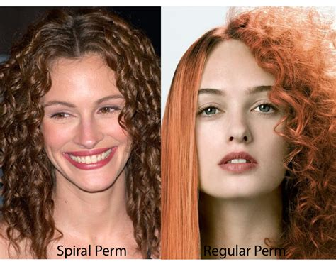 photos of the diffrence between a spiral perm and a nomal perm spiral perm vs regular perm ilookwar com