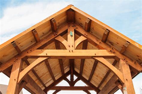bridger timber frame pavilion  barn yard great