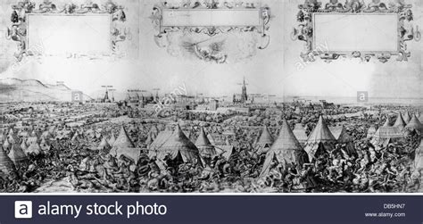 Ottoman Siege Of Vienna Events Ottoman Wars Siege Of Vienna 1529 View Of The Bivouac Of Stock Photo Royalty Free