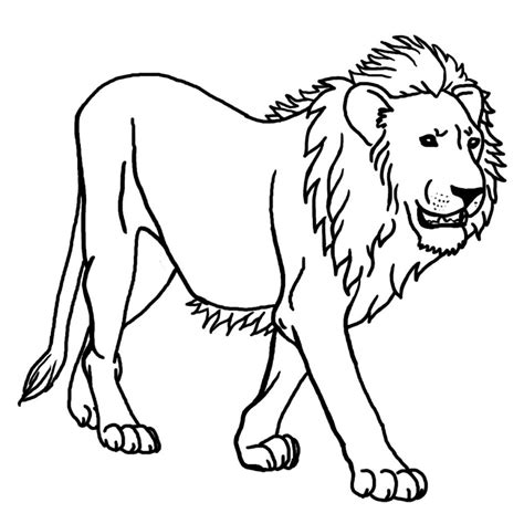 printable poster to color free printable lion coloring pages for kids