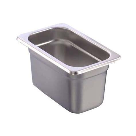 Kitchen Cutlery Storage - one ninth stainless steel food pan masflex