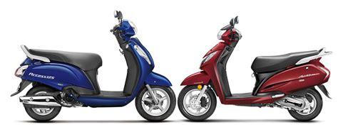 Suzuki Activa 2016 Suzuki Access 125 Vs Honda Activa 125 Specifications