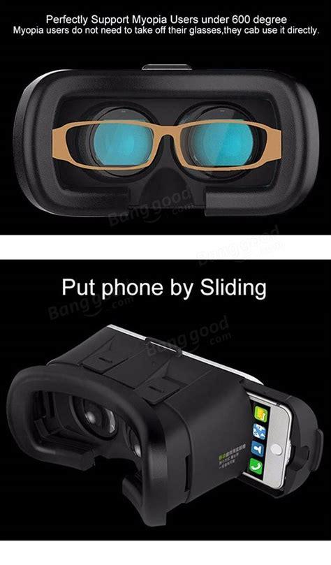Termurah Vr Vr Box 2 3 3d Bluetooth Smartphone Universal Remote reality box 2 0 cardboard vr 3d glasses