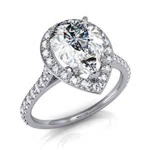 teardrop engagement rings engagement rings teardrop 1