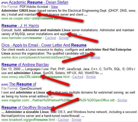 Resume For Administration Jobs by Google Search The Asterisk Wildcard And Punctuation