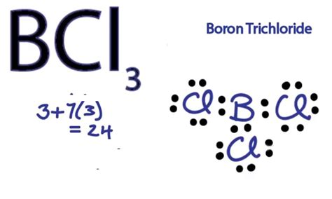boron lewis diagram bcl3 lewis structure how to draw the lewis structure for